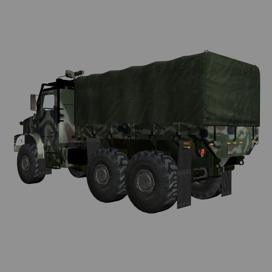 militärfordon royalty-free 3d model - Preview no. 3
