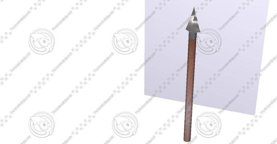 矛 royalty-free 3d model - Preview no. 4