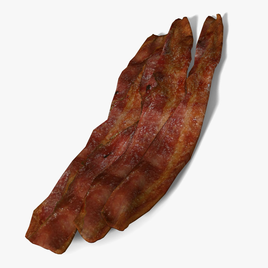 Bacon royalty-free 3d model - Preview no. 1