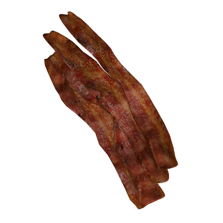 Bacon royalty-free 3d model - Preview no. 3