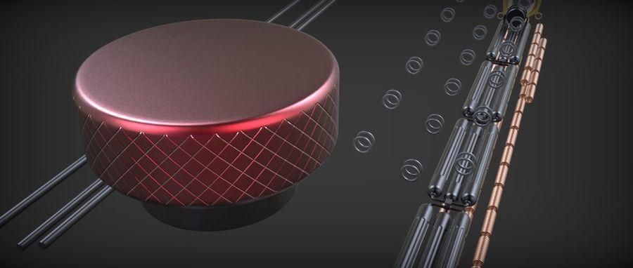 Quigon Jinn Lightsaber royalty-free 3d model - Preview no. 47