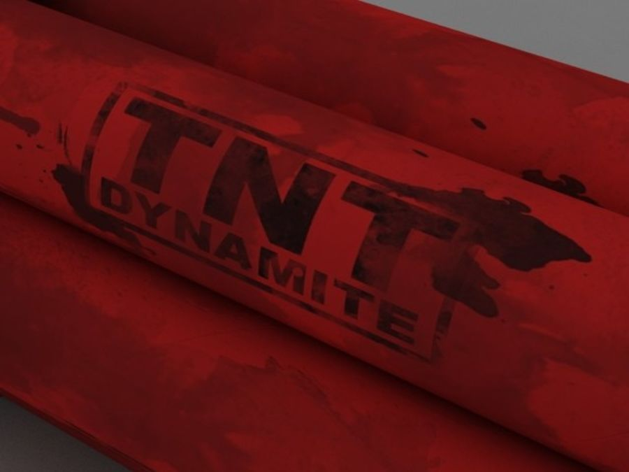 Pack TNT royalty-free 3d model - Preview no. 19