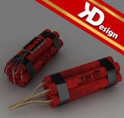TNT pack 3d model