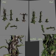 Suche drzewa 3d model