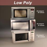 Микроволновая печь 3d model