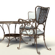 Forged furniture 3d model