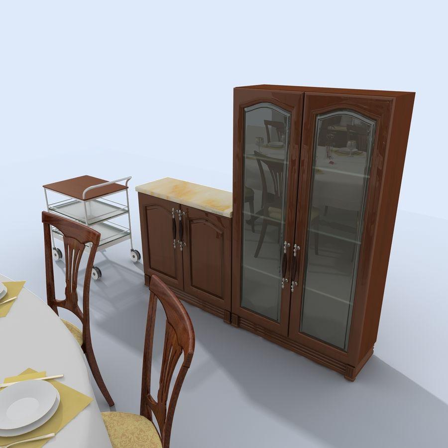 キッチンオールド3 royalty-free 3d model - Preview no. 8