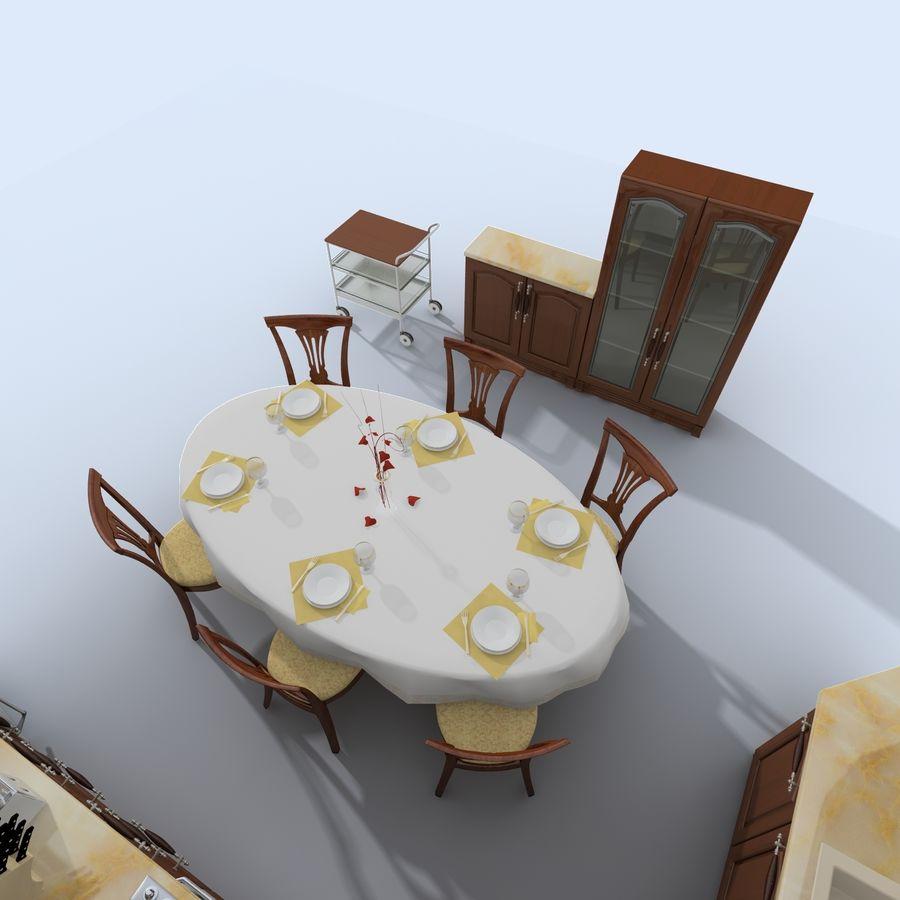 キッチンオールド3 royalty-free 3d model - Preview no. 11