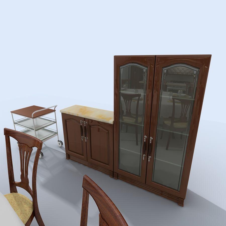 キッチンオールド3 royalty-free 3d model - Preview no. 6