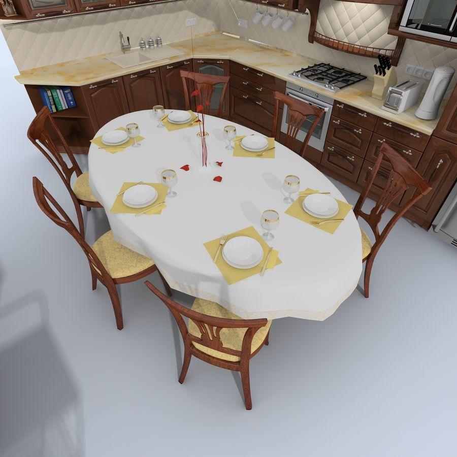 キッチンオールド3 royalty-free 3d model - Preview no. 9