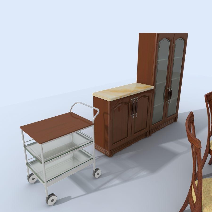 キッチンオールド3 royalty-free 3d model - Preview no. 7