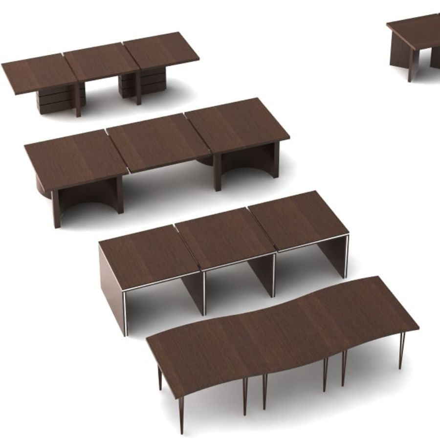 Office furniture pack v1 royalty-free 3d model - Preview no. 2