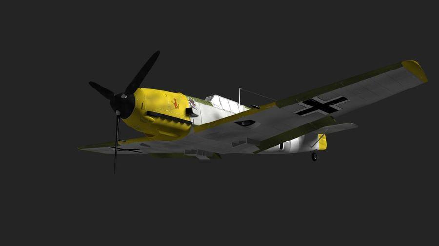 Messerschmitt ME-109 royalty-free 3d model - Preview no. 13