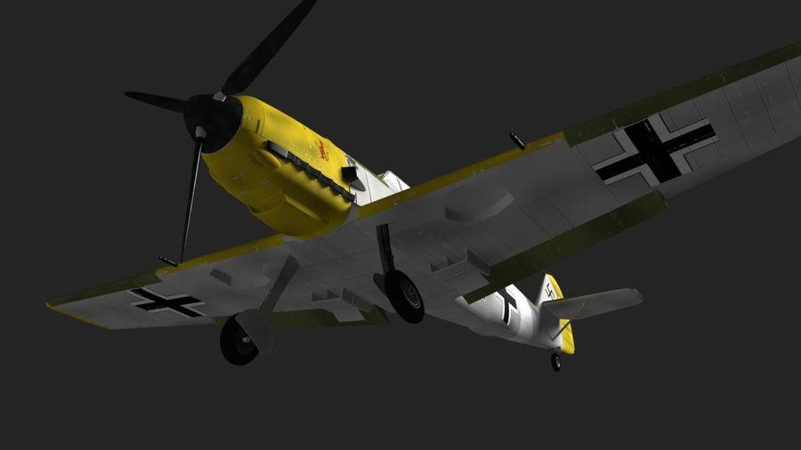 Messerschmitt ME-109 royalty-free 3d model - Preview no. 12