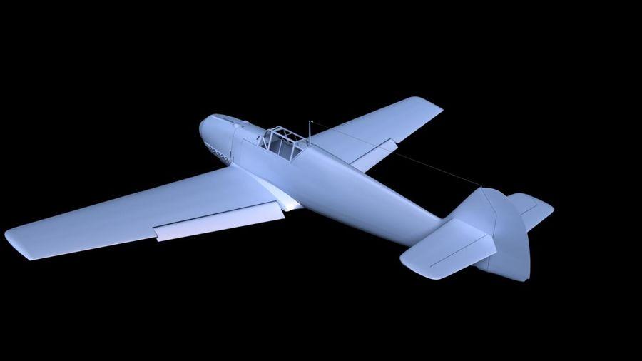 Messerschmitt ME-109 royalty-free 3d model - Preview no. 15