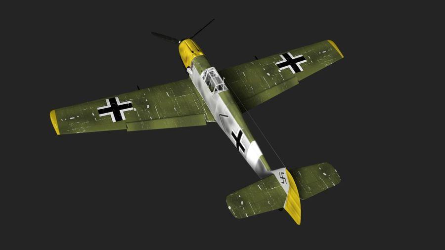 Messerschmitt ME-109 royalty-free 3d model - Preview no. 1