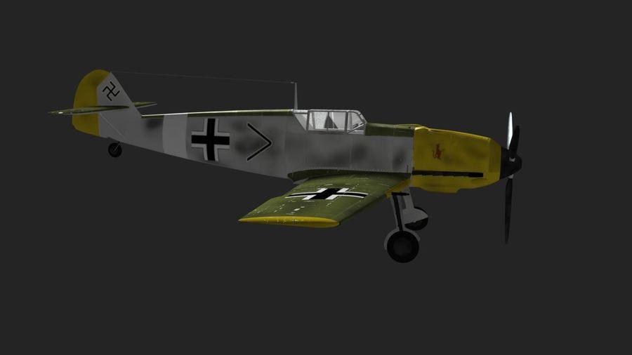 Messerschmitt ME-109 royalty-free 3d model - Preview no. 7