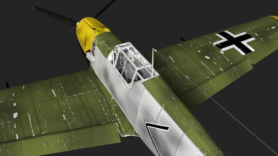 Messerschmitt ME-109 royalty-free 3d model - Preview no. 11