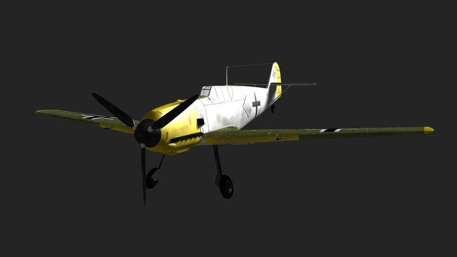 Messerschmitt ME-109 royalty-free 3d model - Preview no. 5