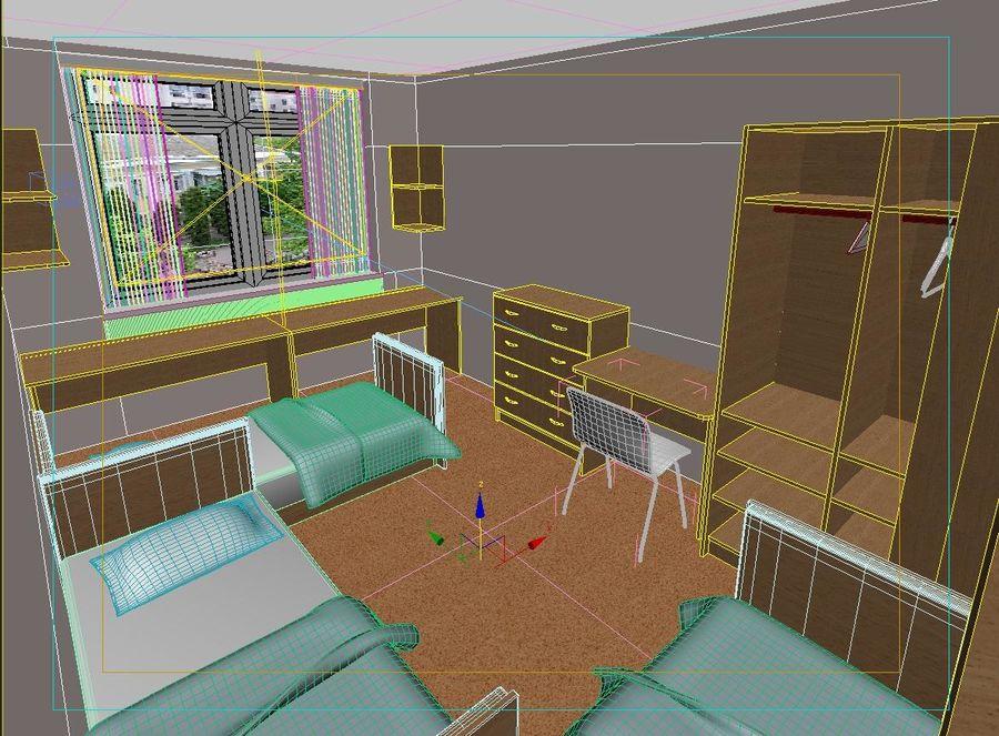 3d Raum 3d Modell 29 Max Obj Fbx Free3d