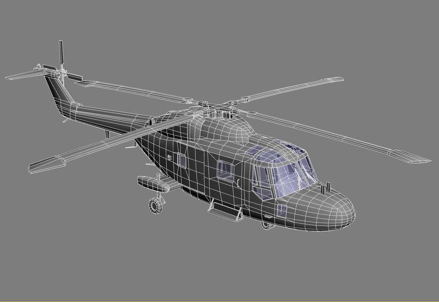 Lekki model śmigłowca armii Lynx royalty-free 3d model - Preview no. 22