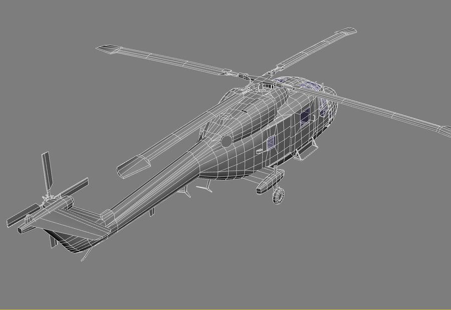 Lekki model śmigłowca armii Lynx royalty-free 3d model - Preview no. 20