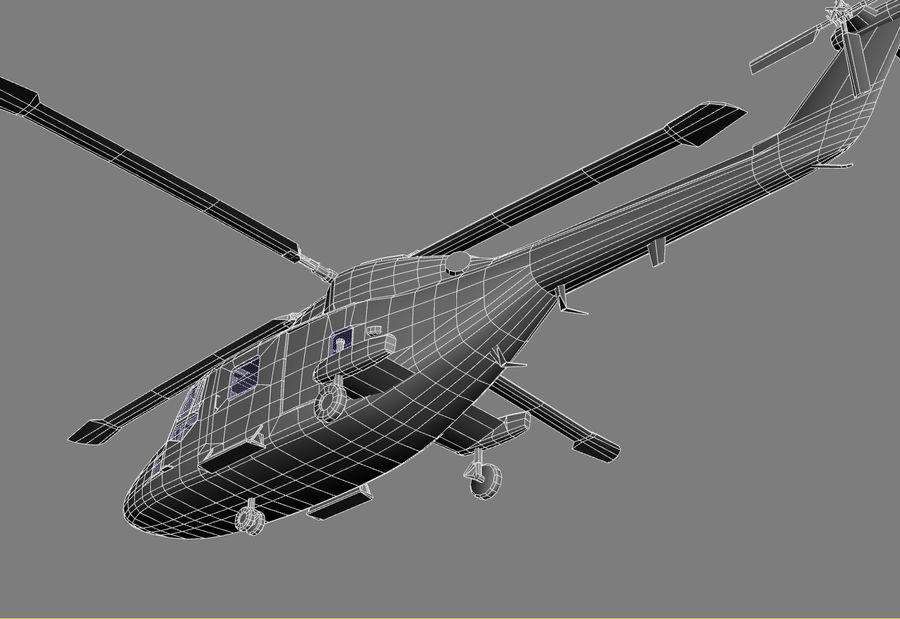 Lekki model śmigłowca armii Lynx royalty-free 3d model - Preview no. 25