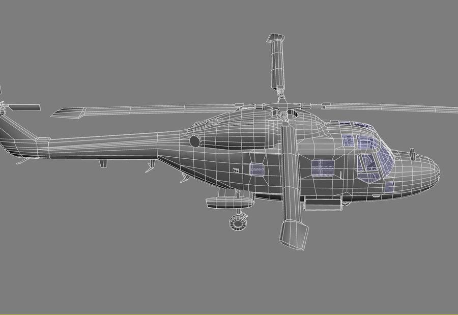 Lekki model śmigłowca armii Lynx royalty-free 3d model - Preview no. 21