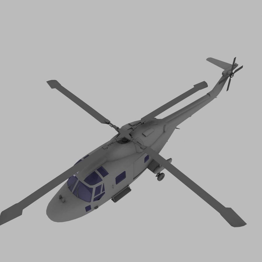 Lekki model śmigłowca armii Lynx royalty-free 3d model - Preview no. 10