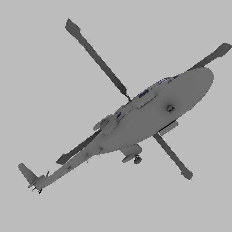 Lekki model śmigłowca armii Lynx royalty-free 3d model - Preview no. 11