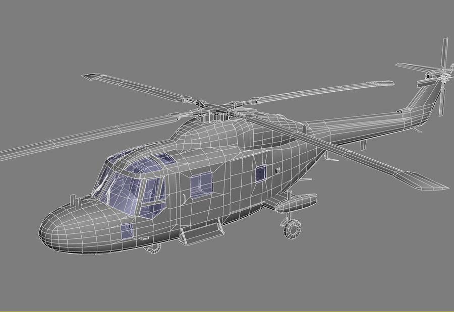 Lekki model śmigłowca armii Lynx royalty-free 3d model - Preview no. 16