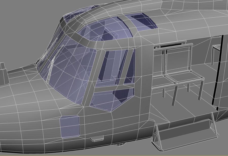 Lekki model śmigłowca armii Lynx royalty-free 3d model - Preview no. 27