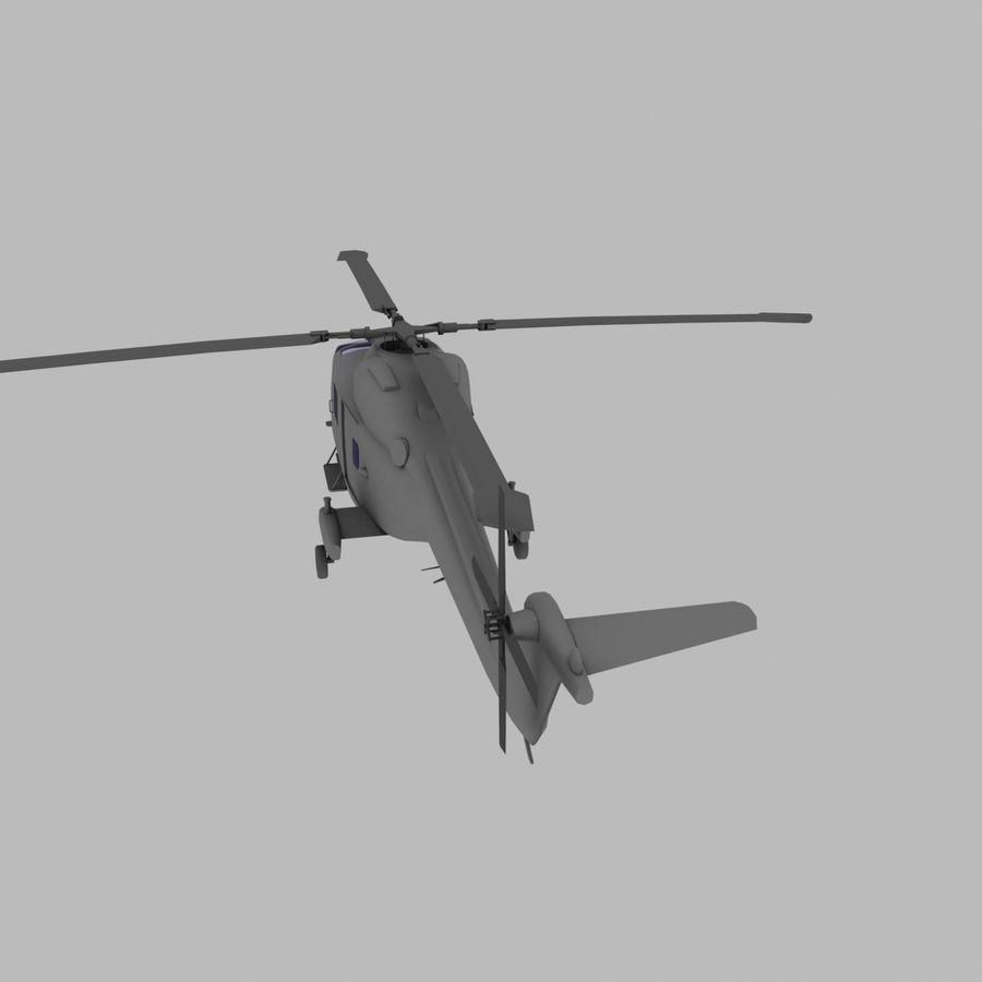 Lekki model śmigłowca armii Lynx royalty-free 3d model - Preview no. 5