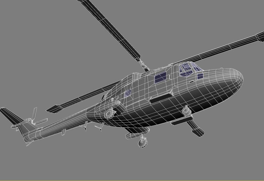 Lekki model śmigłowca armii Lynx royalty-free 3d model - Preview no. 24