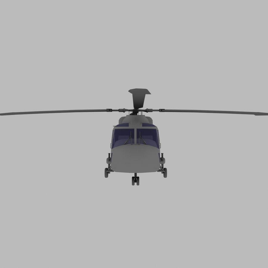 Lekki model śmigłowca armii Lynx royalty-free 3d model - Preview no. 9
