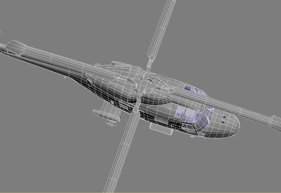 Lekki model śmigłowca armii Lynx royalty-free 3d model - Preview no. 23
