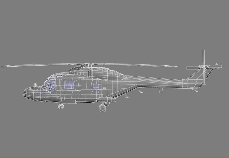 Lekki model śmigłowca armii Lynx royalty-free 3d model - Preview no. 17