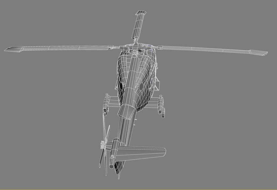Lekki model śmigłowca armii Lynx royalty-free 3d model - Preview no. 19