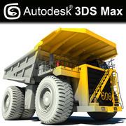 Mine Dumper Truck V2 3d model