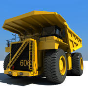 Caminhão basculante de minas V2 3d model