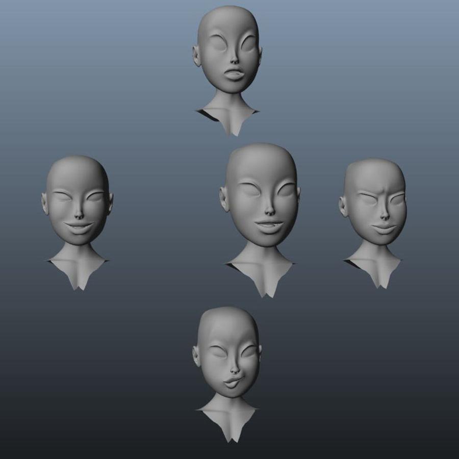 Karakter paketi royalty-free 3d model - Preview no. 16