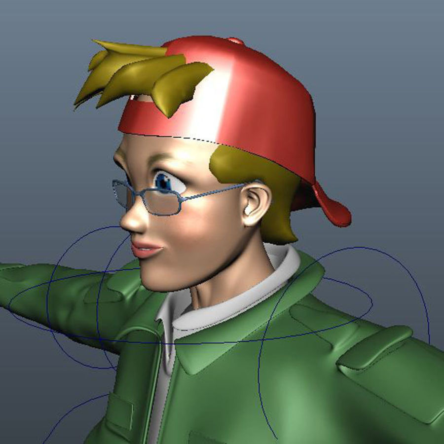 Characters pack royalty-free 3d model - Preview no. 23