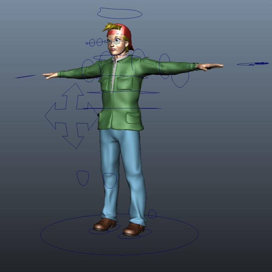 Karakter paketi royalty-free 3d model - Preview no. 20