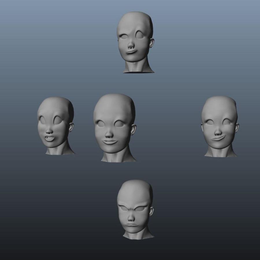 Karakter paketi royalty-free 3d model - Preview no. 24
