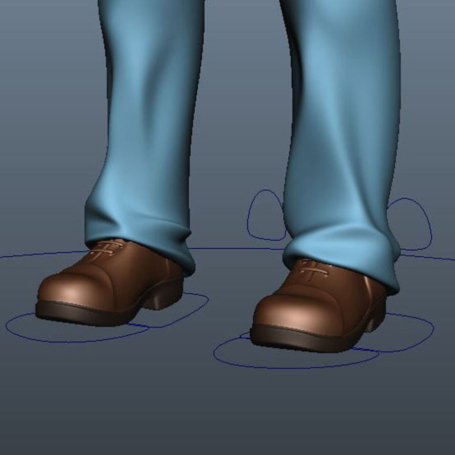 Characters pack royalty-free 3d model - Preview no. 22