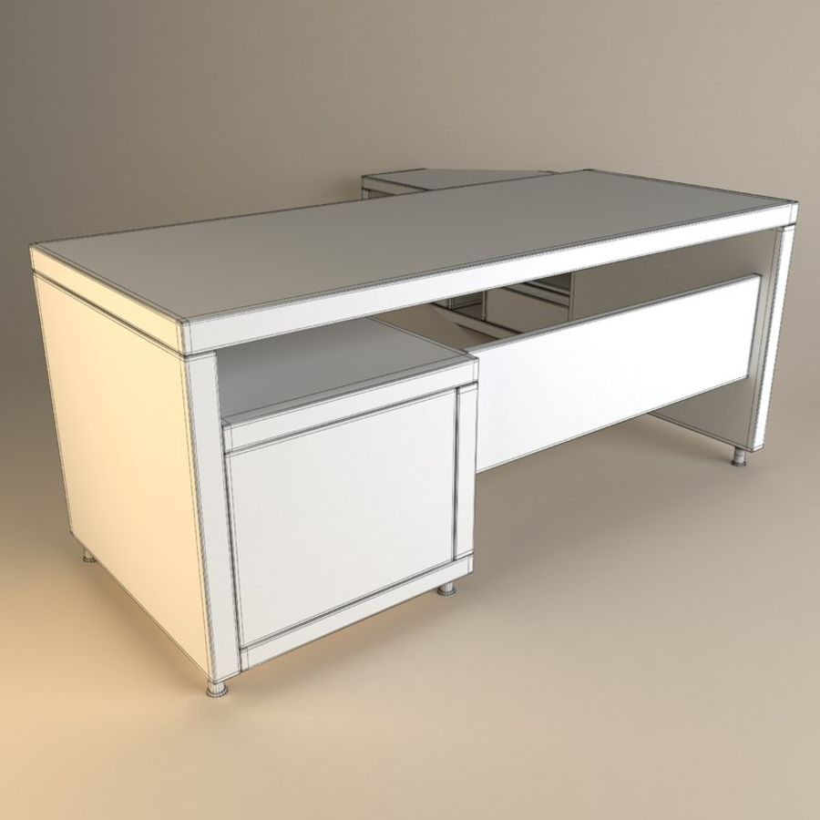 Executive Office 11 royalty-free 3d model - Preview no. 5