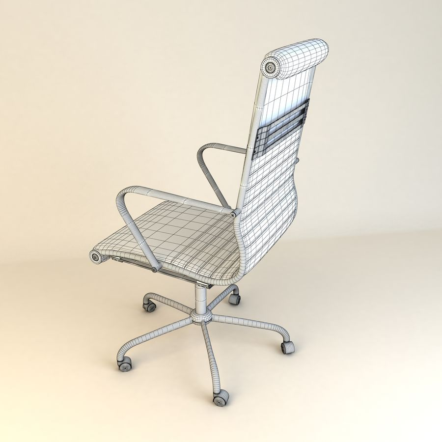 Executive Office 11 royalty-free 3d model - Preview no. 10