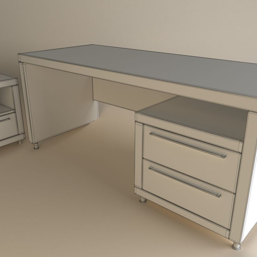 Executive Office 11 royalty-free 3d model - Preview no. 4