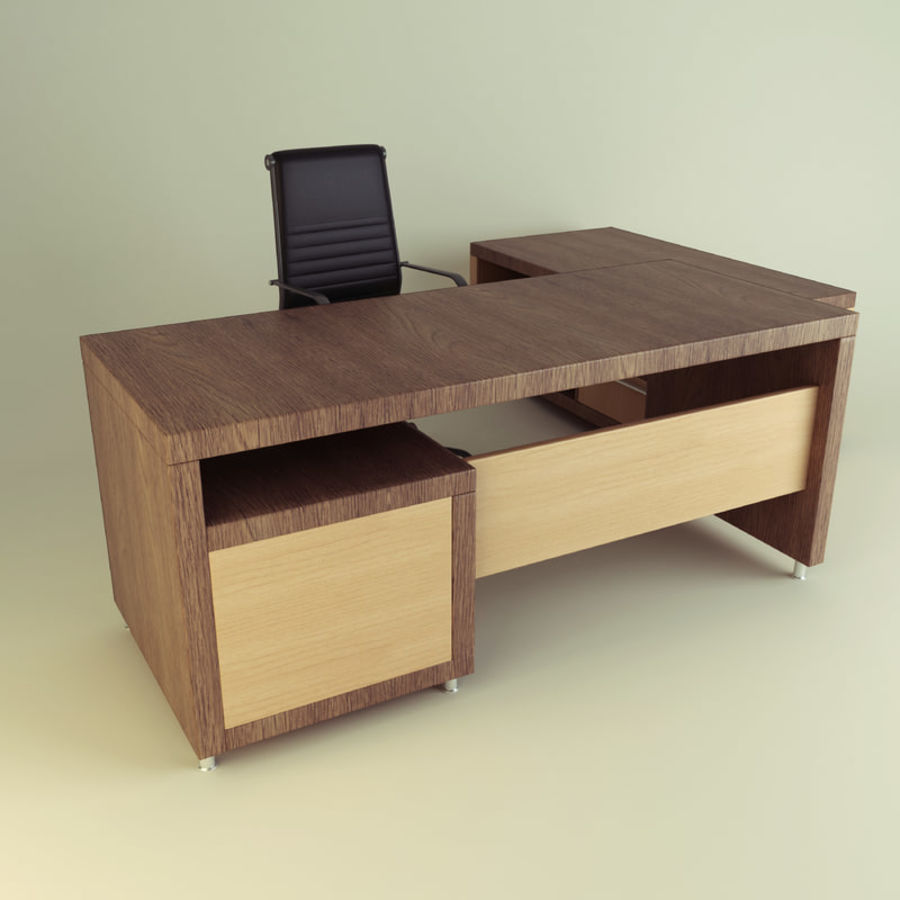 Executive Office 11 royalty-free 3d model - Preview no. 1