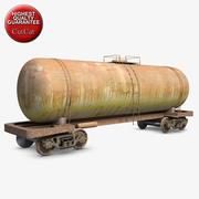 Wagon 1 Cistern 3d model